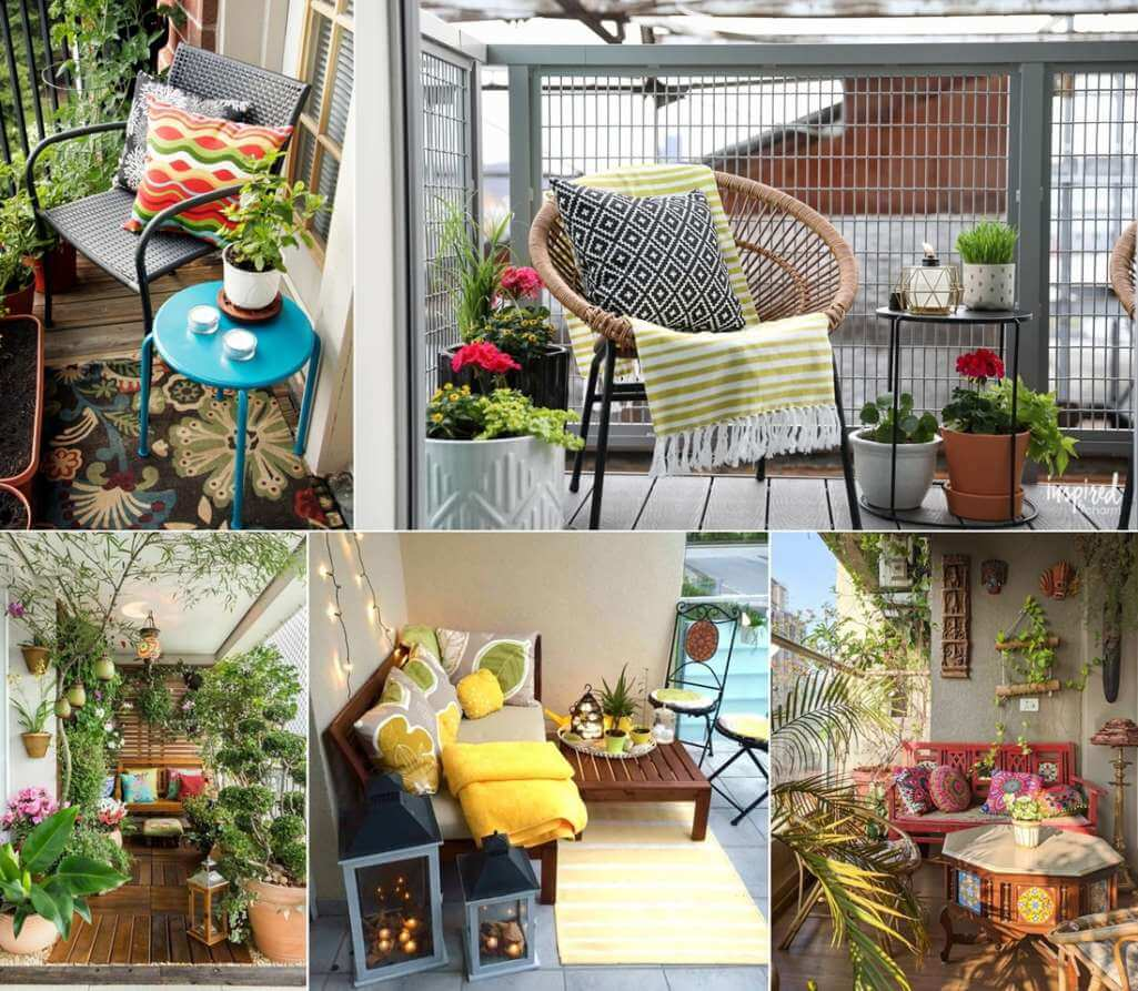 Spring Balcony Decor Ideas