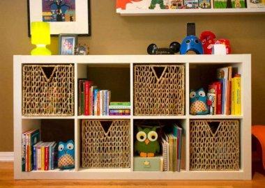 Rattan Kids Room Decor Ideas