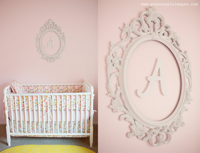 Kids room monogram