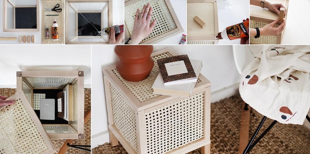 DIY Cane Webbing Projects