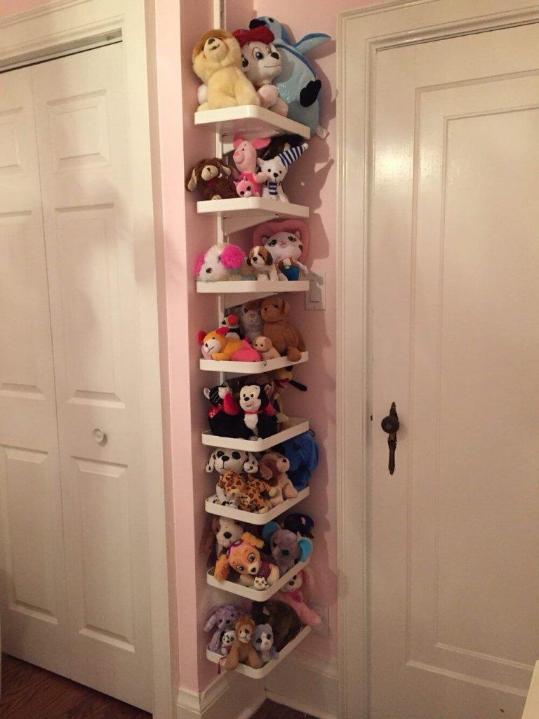 Wall Toy Storage Ideas