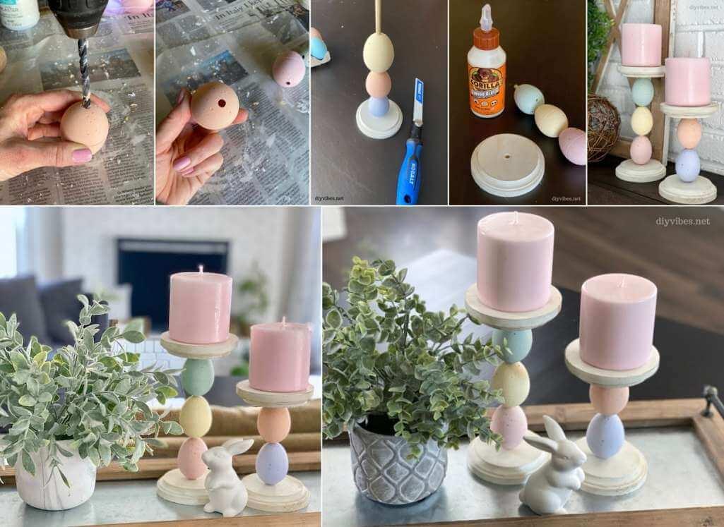 DIY Candle Holder Ideas
