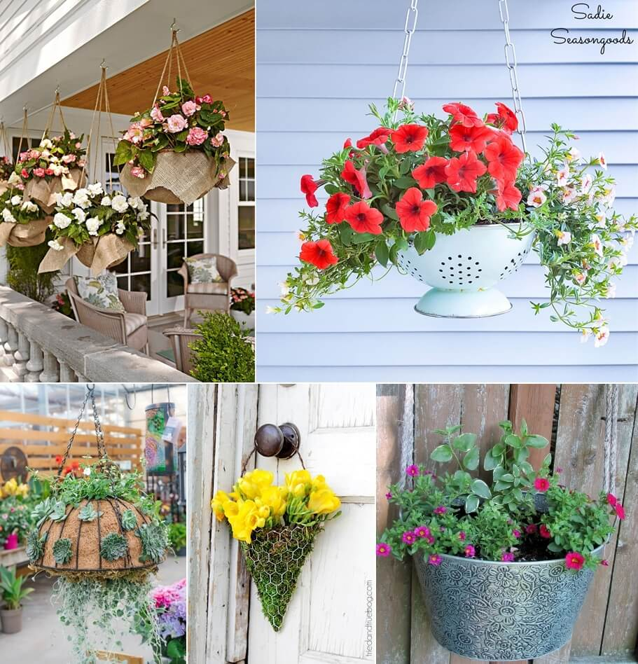 Hanging Flower Basket Ideas