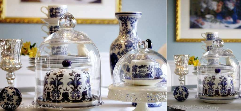 Ways to Style a Glass Cloche
