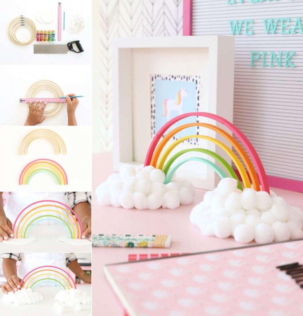 diy rainbow projects