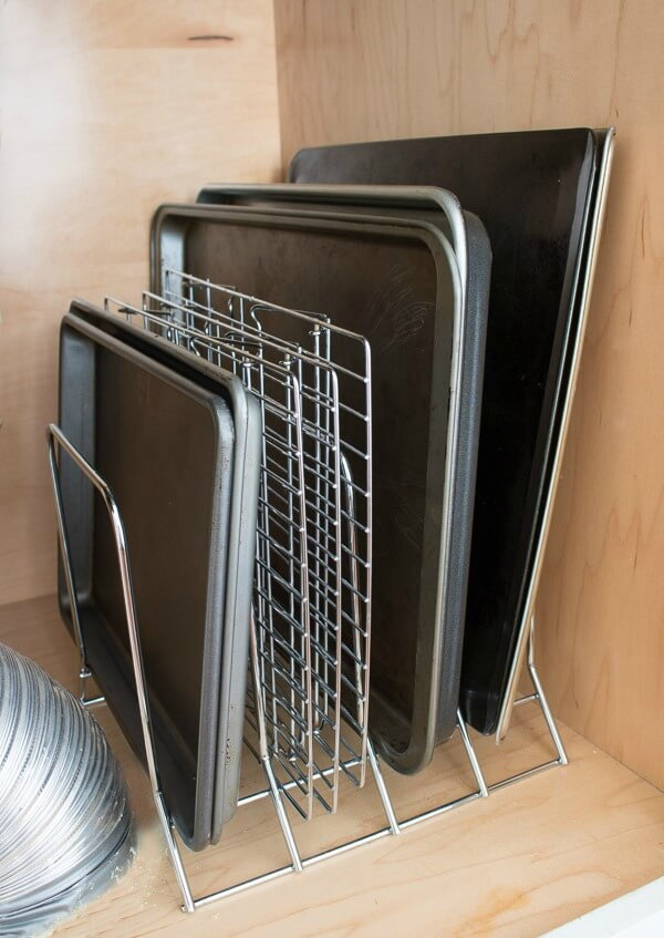 Bakeware Storage Ideas