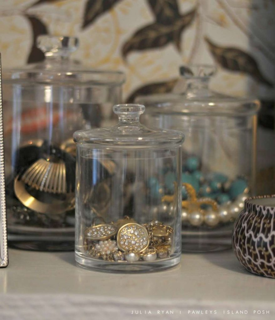 Apothecary Jar Home Storage Ideas