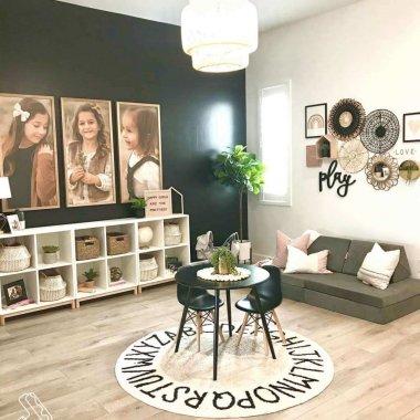 Playroom Wall Decor Ideas