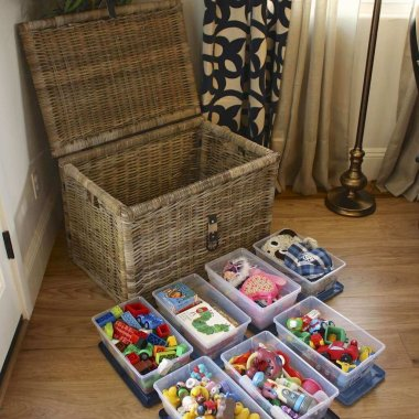 Living Room Toy Storage Ideas
