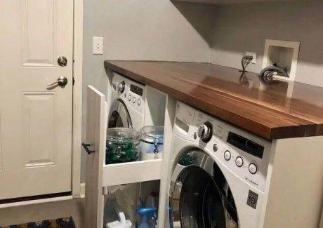 Laundry Room Detergent Storage Ideas