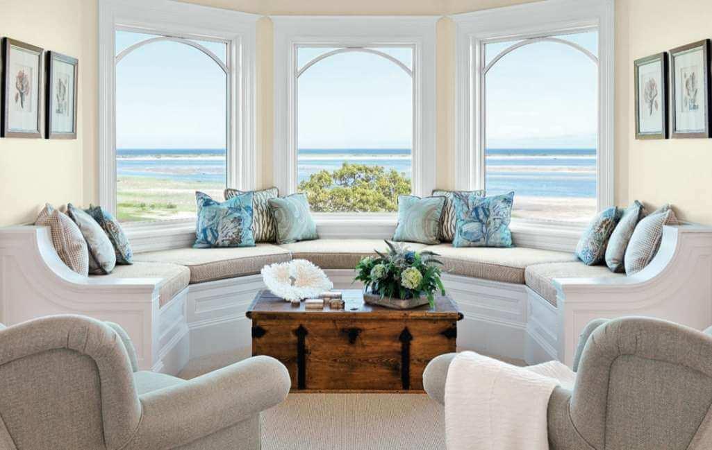 Bay Window Decor Ideas