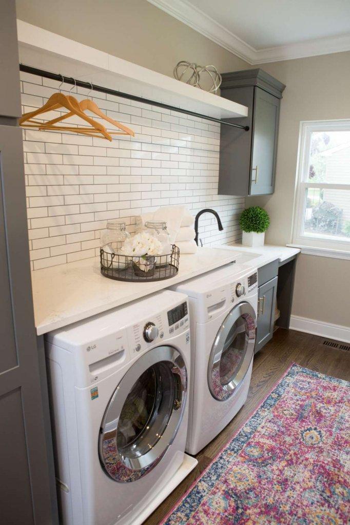 laundry room countertop ideas