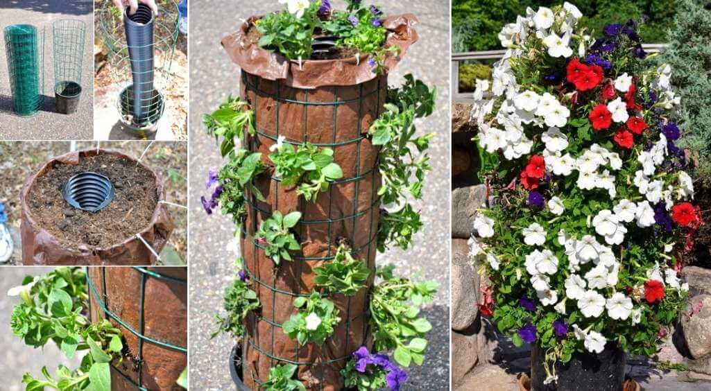 Flower Tower Ideas