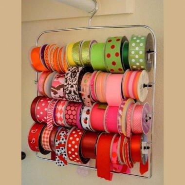 ribbon storage ideas