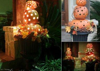 Fall Topiary Ideas