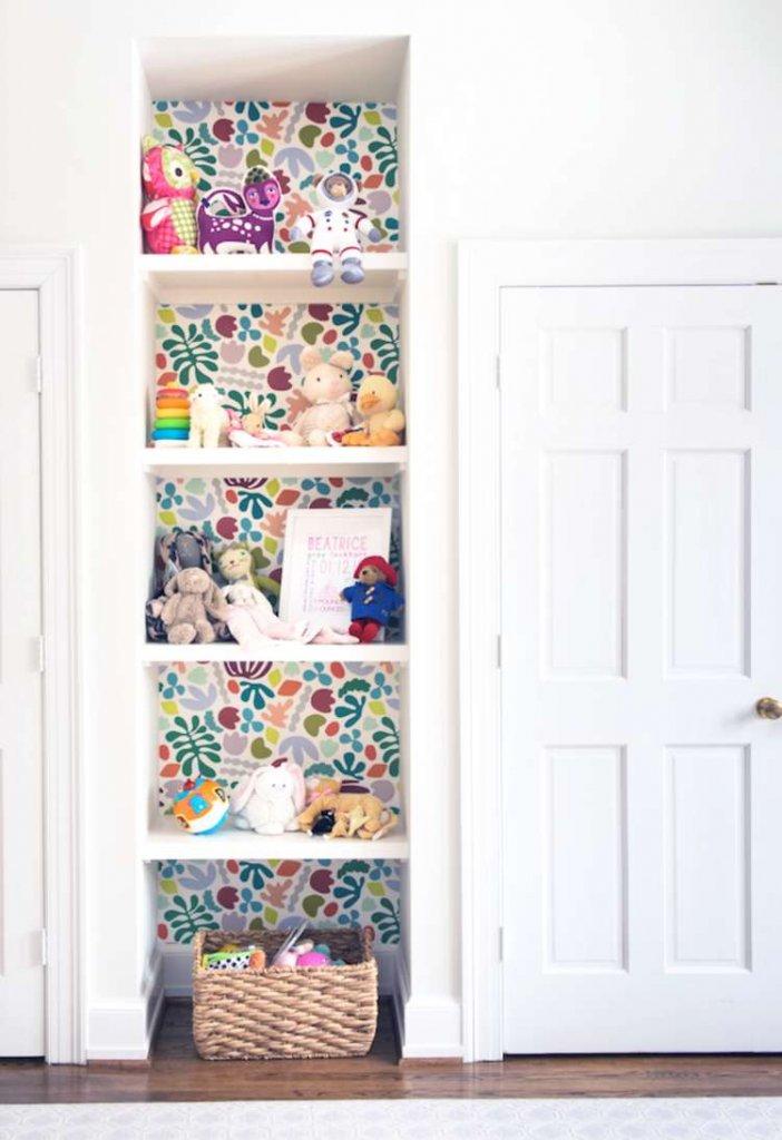 Shelf Makeover Ideas
