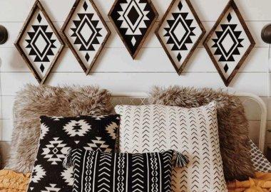 Tribal Pattern Home Decor
