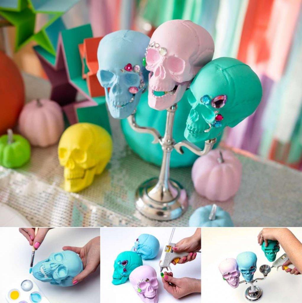 DIY Rainbow Halloween Decor Ideas
