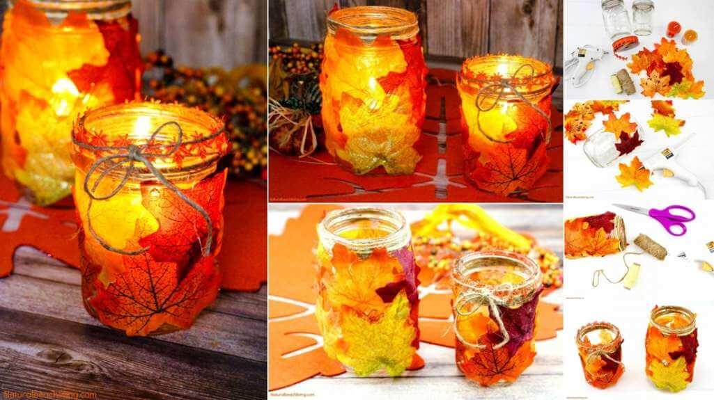 Fall Mason Jar Crafts