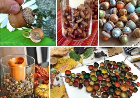 diy acorn crafts