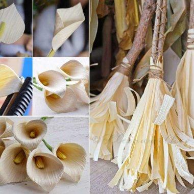 Decorating with Corn Husk